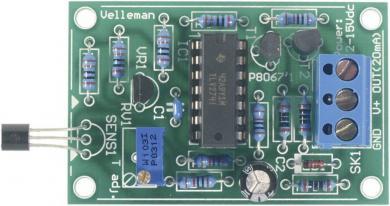 Kit senzor de temperatură, 12 V/DC sau 15 V/DC, interval de reglare temperatură (ºC) -20 până la 70 ºC