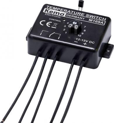 Termostat automatic ajustabil electronic 12 V/DC