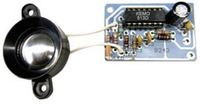 Kit generator ultrasunete anti-dăunători (rozătoare, jderi, șoareci, șobolani), 12-16 V, 23 kHz