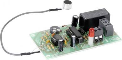 Kit întrerupător acustic (batai din palme) cu microfon cu condensator