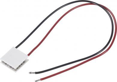 Element Peltier standard 7105, (L x l x Î) 30 x 30 x 4,1 mm, tensiune nominală 8.5 V, putere de încălzire (max.) 27 W