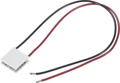 Element Peltier standard 12708, (L x l x Î) 50 x 50 x 4.5 mm, tensiune nominală 15.4 V, putere de încălzire (max.) 76 W