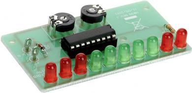 Indicator cu led pentru stare baterie auto Conrad, kit asamblare, 12 V/DC