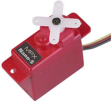 Servodirecţie analogică Multiplex Mini-Servo Nano-S, conector JR