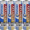 Set 4 acumulatori AAA NiMH, 1,2 V, 900 mAh, Conrad energy
