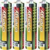 Set 12 acumulatori NiMH, 4 x AAA (800 mAh), 8 x AA (2200 mAh), Conrad energy Endurance