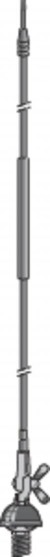 Antenă mobilă DV 27 S, 80 W, lungime cablu 4 m
