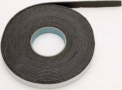 Bandă de etanşare din cauciuc, 10 m x 20 mm x 3 mm