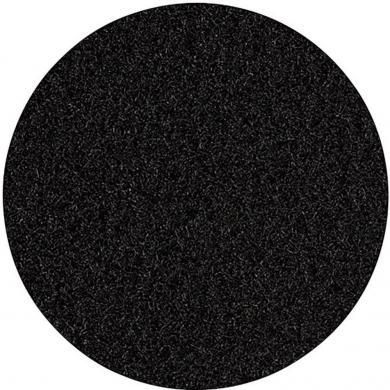 Căptuşeală din velur 140 x 75 mm, negru