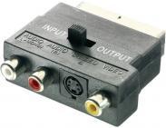 Adaptor SCART la 3 RCA şi...