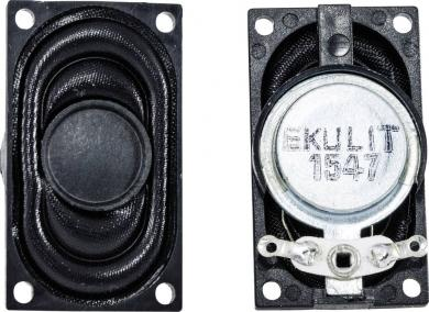 Difuzor miniatură seria LSM-SK, tip LSM-S20K, 8 Ω, 75 dB