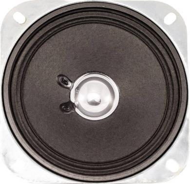Difuzor miniatură seria LSM-SQ, tip LSM-104 F/SQ, 8 Ω