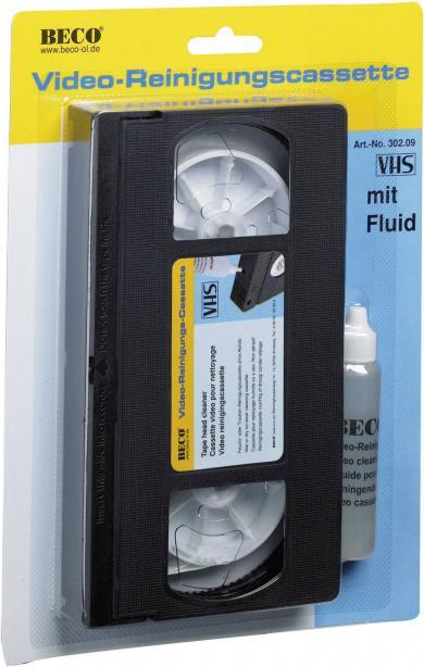 Casetă curăţare VHS Vivanco