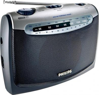 Radio portabil Philips AE2160, antracit