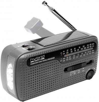 Radio universal Muse MH-07 DS cu alimentare proprie, negru