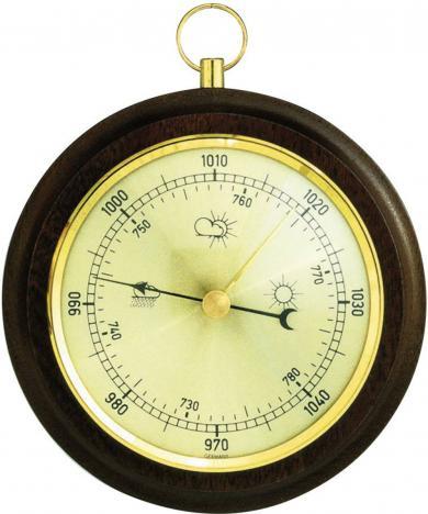 Barometru analogic de perete, lemn, TFA 29.4001