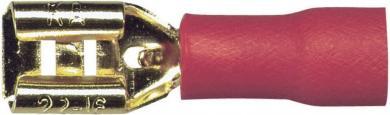 Conector plat Sinus Live, 4.8-1.5 mm, 10 bucăţi