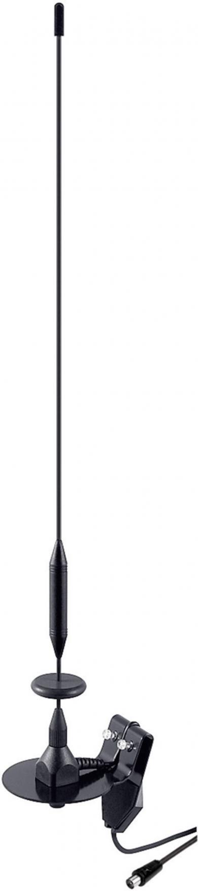 Antenă pentru geam auto cu clemă 1D DVB-T