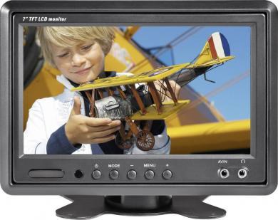 "Monitor LCD 17,8 cm (7"") pentru auto Renkforce T-701B"