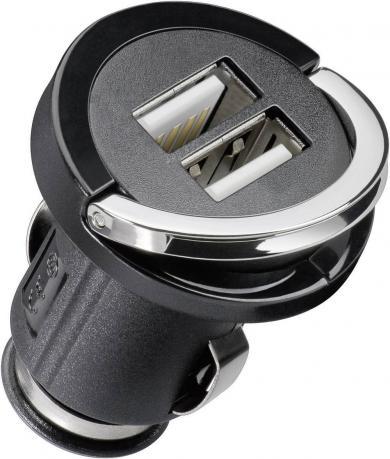 Adaptor încarcare Cabstone DUAL-USB High Power, 2 porturi USB