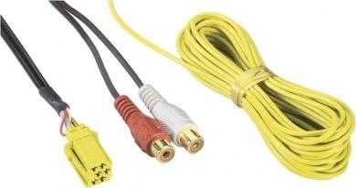 Adaptor Line Out mini ISO, 4 x mufe RCA