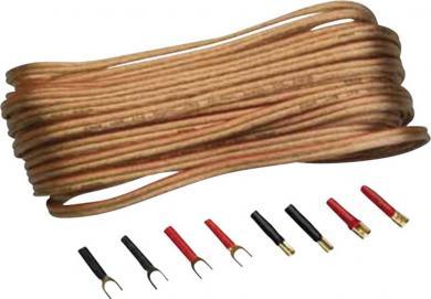 Set cabluri pentru difuzoare Sinus Live, 2,5 mm²
