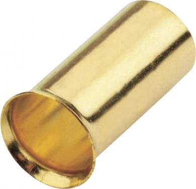 Manşon capăt de cablu aurit Sinus Live, 16 mm², 8 bucăţi