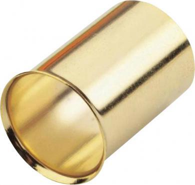 Manşon capăt de cablu aurit Sinus Live, 50 mm², 4 bucăţi