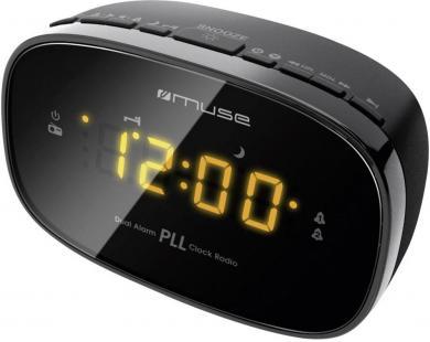 Radio cu ceas deșteptător Muse M – 150, negru