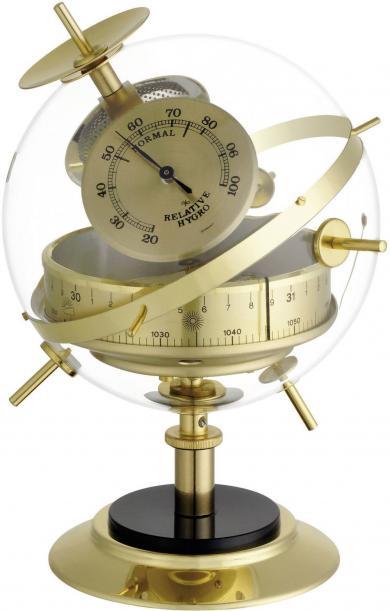 Stație meteo analogică de interior, alamă, TFA Sputnik 20.2047.52