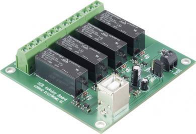 Placă electronică cu relee şi USB, 5 V/DC