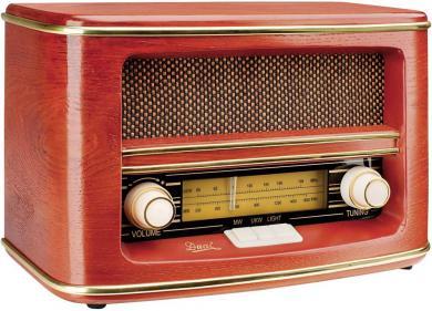 Radio FM/AM Dual NR 1 Nostalgie, lemn
