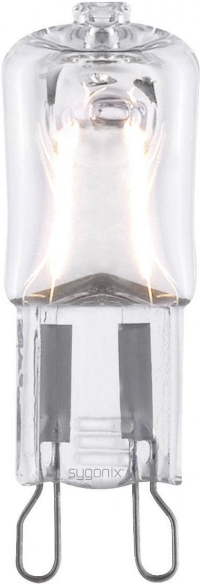 Bec halogen G9, 42 W, alb-cald, 2 buc, sygonix
