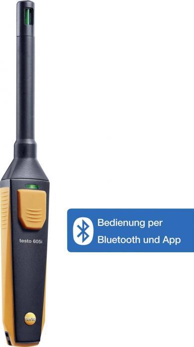 Termo-higrometru cu Bluetooth, testo 605i