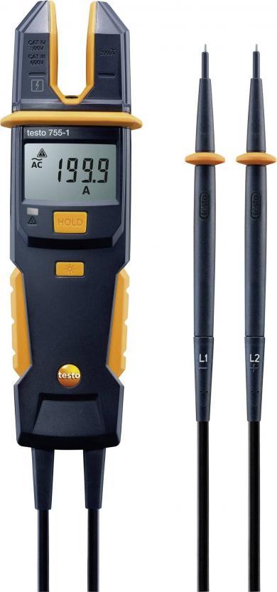 Tester de măsurare tensiune și curent, testo 755-1