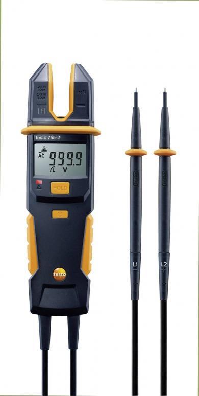 Tester de măsurare tensiune și curent, testo 755-2