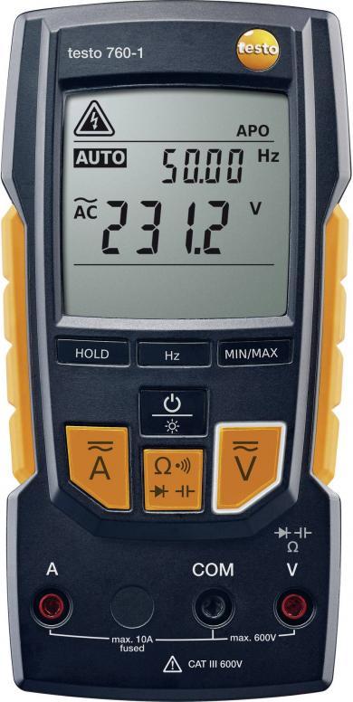 Multimetru digital, testo 760-1