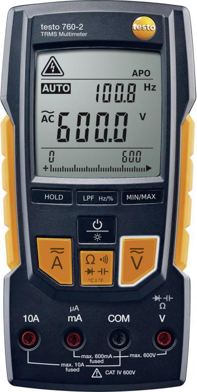 Multimetru digital, testo 760-2