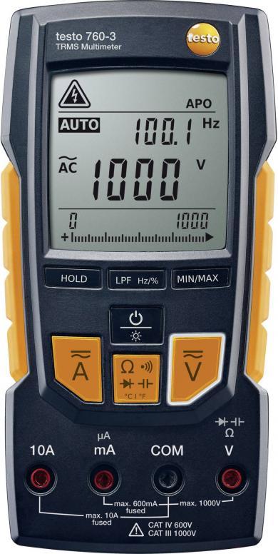 Multimetru digital, testo 760-3