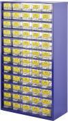 Dulap de depozitare 60 de compartimente cu set 6000 de rezistenţe cu peliculă metalică