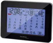 Calendar cu ceas DCF, negru,...