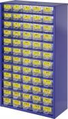 Dulap de depozitare cu 60 de compartimente cu set 6000 de rezistenţe