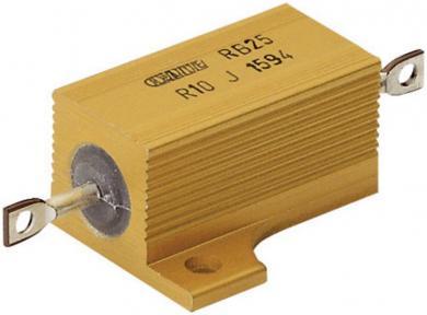 Rezistenţă de putere 10 Ω, axială, 25 W, ATE Electronics RB25/, 1 buc.
