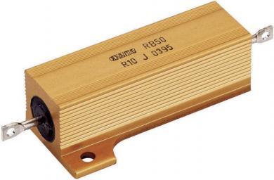Rezistenţă de putere 3,9 Ω, axială, 50 W, ATE Electronics RB50/, 1 buc.