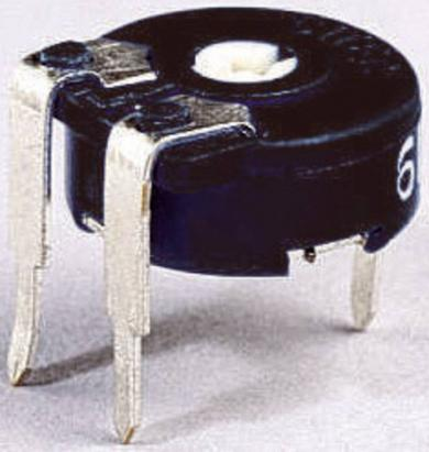 Potenţiometru miniatură orizontal Piher PT 10 LV, 10 kΩ