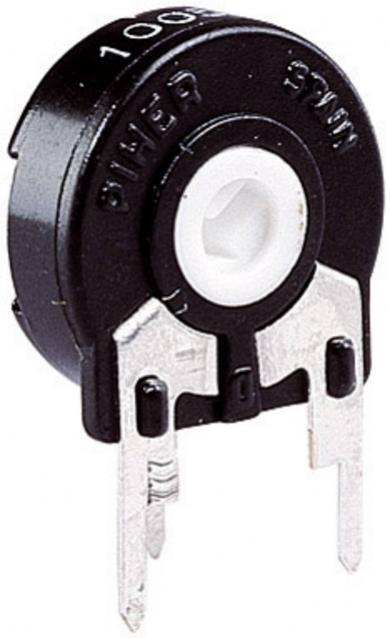 Potenţiometru vertical Piher PT 15 LH, 500 kΩ