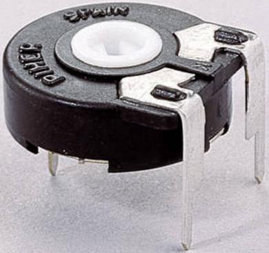 Potenţiometru orizontal Piher PT 15 LV, 500 Ω