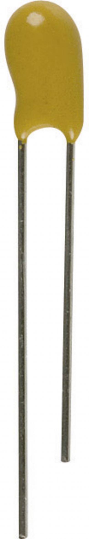 Condensator cu tantal, 10 μF, 35 V/DC, 20 %, RM 2,5 mm, (Ø x Î) 6 x 10 mm, AVX TAP106M035SCS