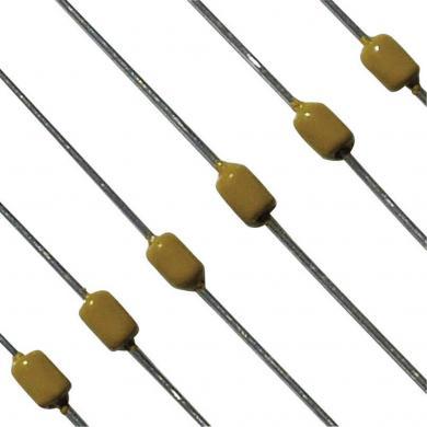 Condensator axial multistrat tip A15NP0471JAAT10A, 470 pF, 100 V, RM 5 mm, (Ø x L), 2.54 mm x 3.81 mm, material NPO, ± 5 %