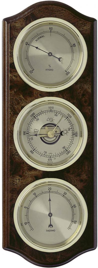 Stație meteo analogică de interior, culoare lemn, TFA 20.1076.20.B